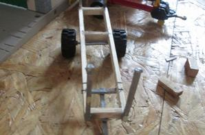 remorque a bois 1/32 fabrication maison