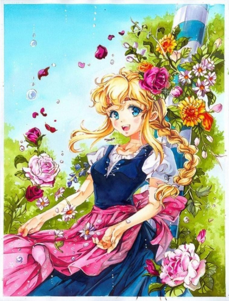 fille manga kawaiiiii