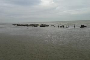 épaves de navires à Zuydcoote