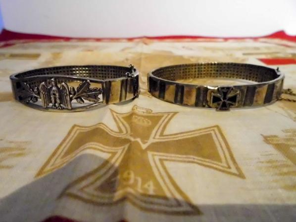 Bracelets patriotique ww1