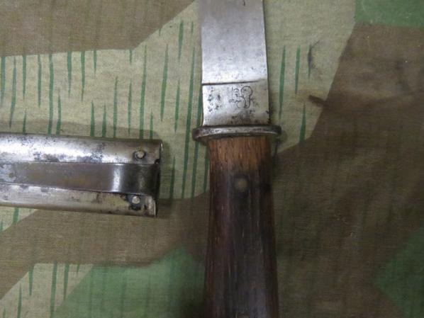 Couteau de combat ( Eickhorn Solingen ) Allemagne ww2