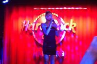 whigfield at Hard Rock Cafe Hamburg 2013 part 1