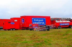 REPORTAGE SUR LE CIRQUE CLAUDIO ZAVATTA AUX SABLES D'OLONNE ... VUES GENERALES