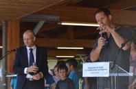 """Inauguration de l'école élémentaire """"la grande Ourse""""de Ramonet Thomas Pesquet"""