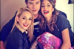 Martina, Mercedes et Diego <3