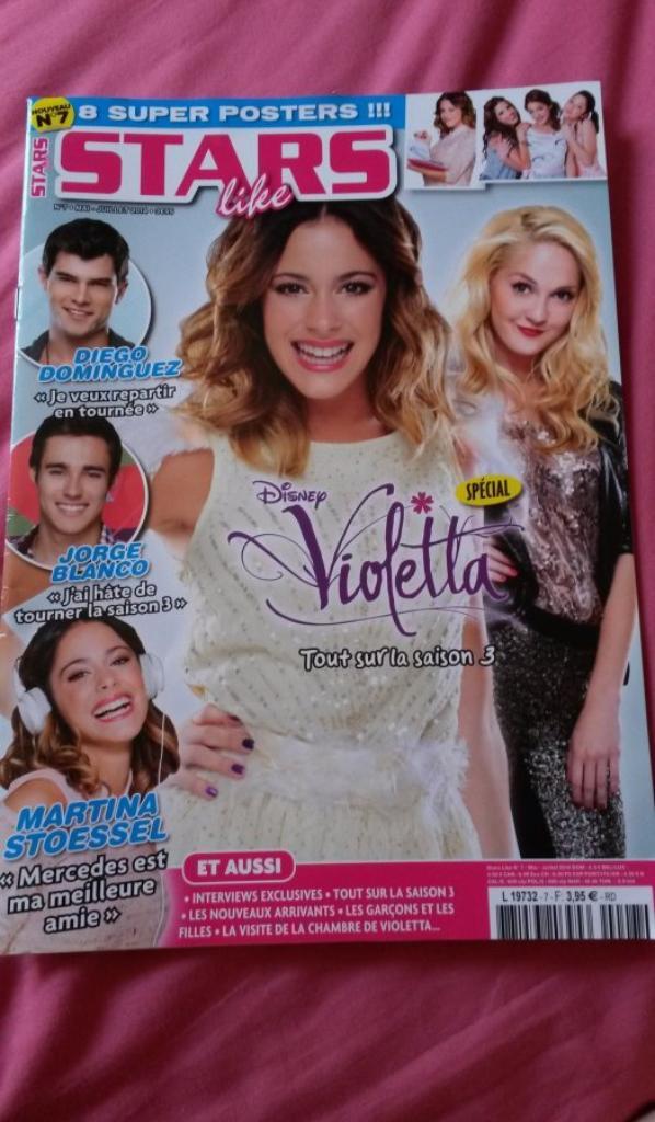 """stars like"" spécial violetta"