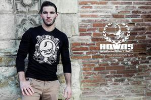 HAWAS COLLECTION / HAWAS SCORP : T-SHIRT NOIR ML HC ORION