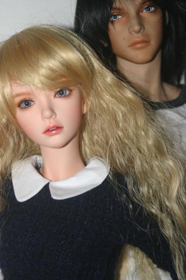Nouvelle wig pour Lilou