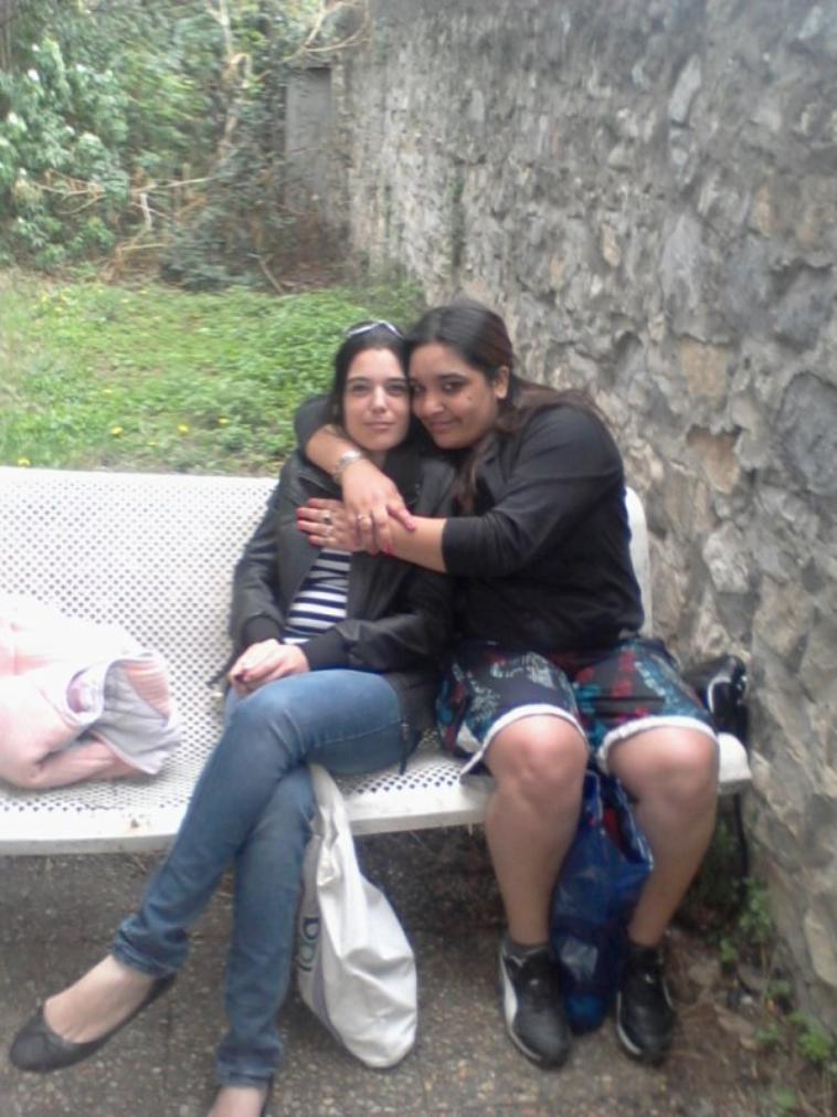 mon pote nuno et mai 2 copine nadia et lorenza