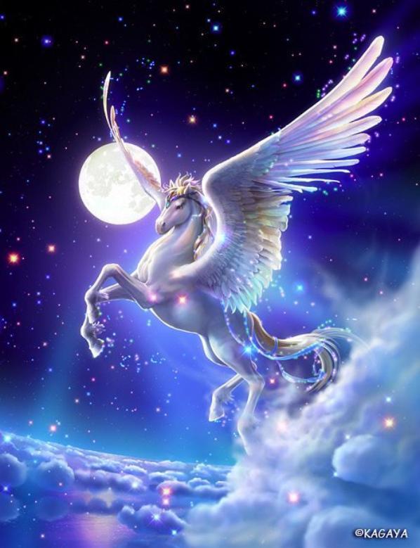 Artémis et Pegasus (toujours selon Kagaya) !