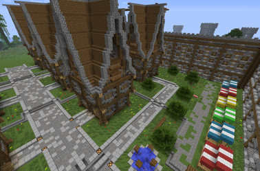 Château en construction [ Team AgeOfCraft ]