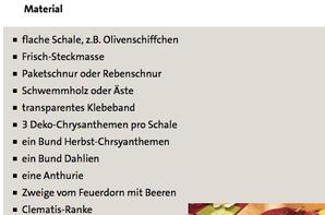 Tischdekoration in strahlenden Farben - ARD-Buffet :: Kreativ