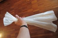 Travail de papier de soie