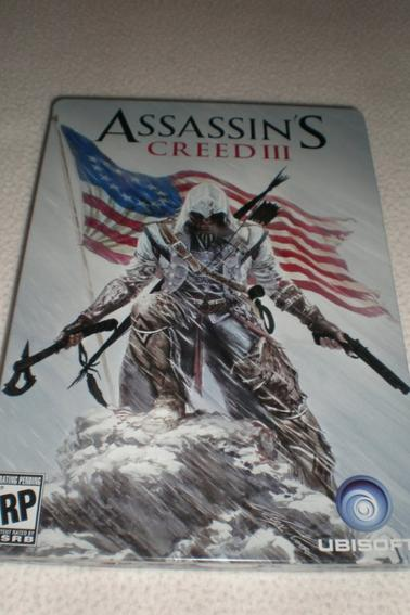 Assassin's Creed III Steelbook by Alex Ross