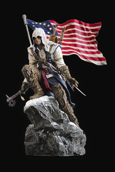 Assassin's Creed 3 statue Connor
