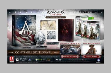 Assassin's Creed 3 Collectors
