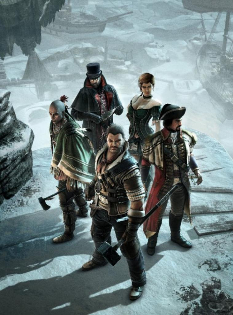 Assassin's Creed 3 - MultiPlayer Characters