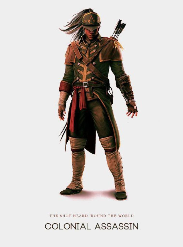 Assassin's Creed 3 - Tenue de Connor