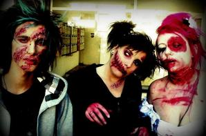 Scari  halloween make-up