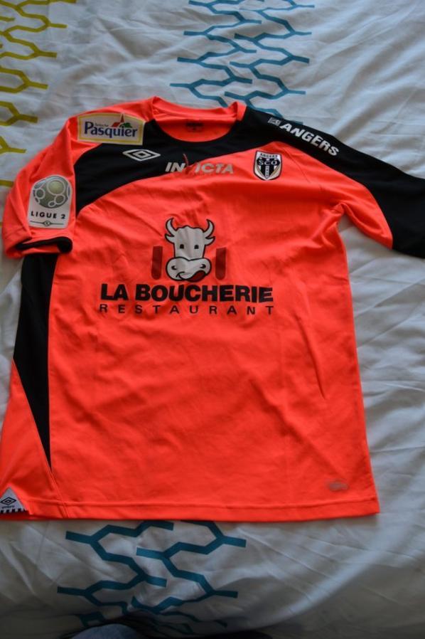 Maillot préparé pour Richard SOCRIER... saison 2012-13