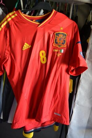 maillot rare preparer pour la FINALE DE L'EURO 2012 !!!