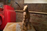 Le cow-boy à cheval