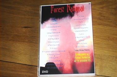 Concert Forest national 14 octobre 1995
