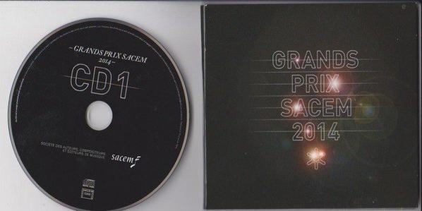 CD GRAND PRIX DE LA SACEM 2014