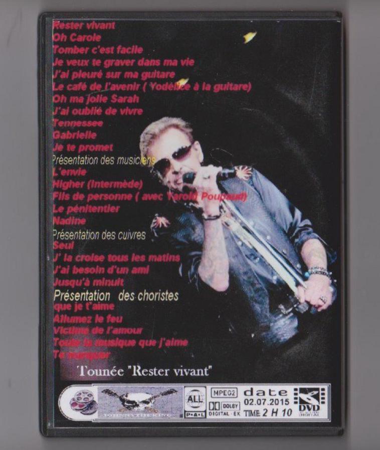 DVD Arènes de Nîmes : 2 juillet 2015 filmé côté droit