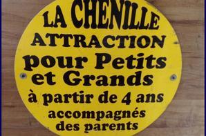 LA CHENILLE ROYAL - HORSE DANS LES DETAILS