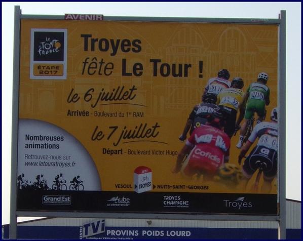 LE TOUR DE FRANCE S'AFFICHE !!!
