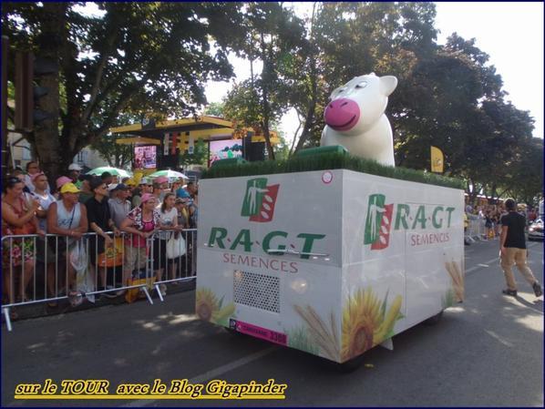 SUR LE TOUR  A TROYES ...RAGT