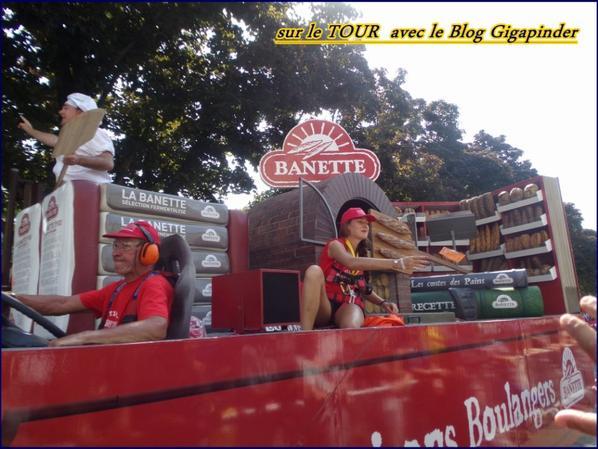 SUR LE TOUR  A TROYES .....BANETTE