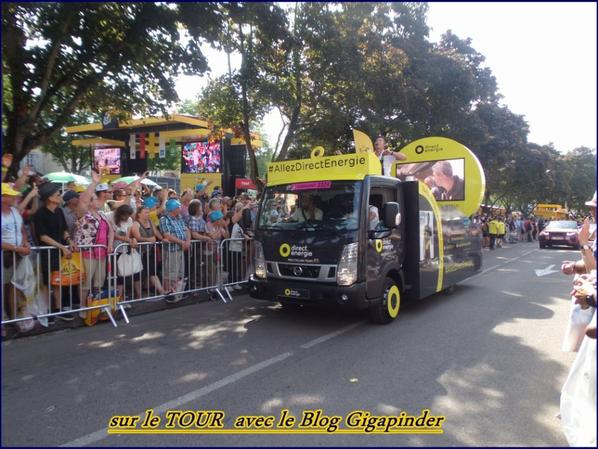 SUR LE TOUR  A TROYES ...DIRECT ENERGIE