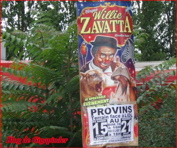 WILLY ZAVATTA  CAPLOT A  PROVINS ( 77 )