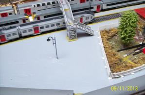 petit aperçu aérienne de la gare nord-ouest ( en finition )