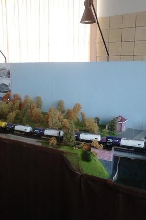 notre petite visite au musée ( PFT ) à Saint-ghislain ce 13/09/14 -- P8 -- Gare de Blaton