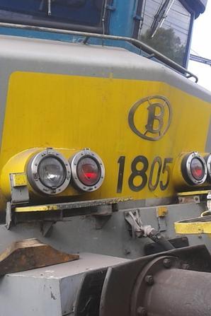 notre petite visite au musée ( PFT ) à Saint-ghislain ce 13/09/14 -- P19 -- magnifique loco electrique série 18