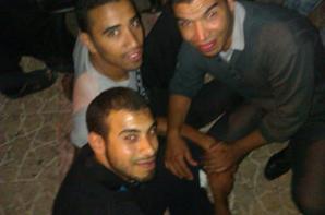 jawad zarzor et moi dans une soirée a medina