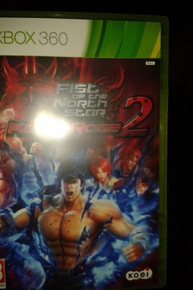 Jeu Video Fist of the north star Ken's rage 1 et 2(Ken le survivant) X-Box 360