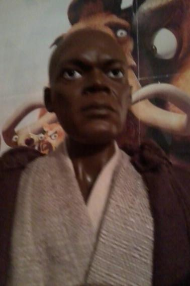 Star Wars Diamond select 1/4 scale ultimate Mace Windu 44cm