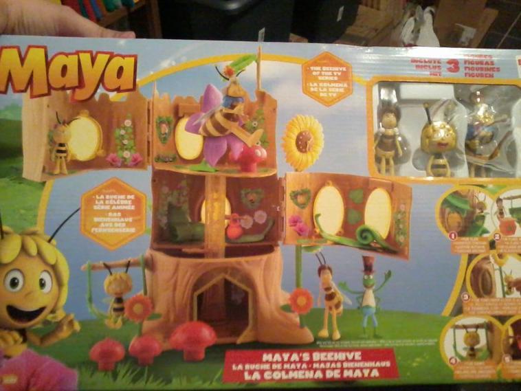 Playset Maya l'Abeille+ 3 figurines