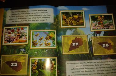 Album Panini Maya l'abeille