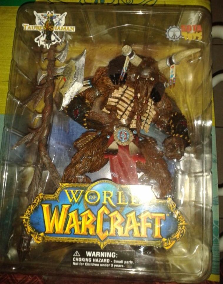 world of warcraft (Tauren Shaman)