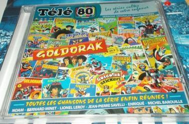 Goldorak Cd audio + Vinyle