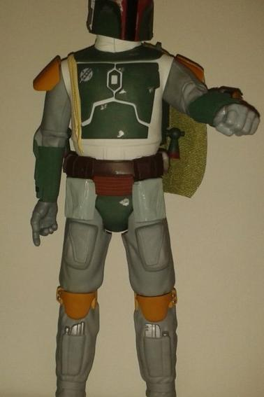 Star Wars Figurine Chewbacca 50 cm Et Boba Fett 50 cm (Jakks Pacific)