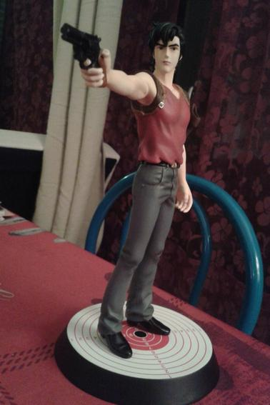 Statuette resine de Nicky Larson (City Hunter)