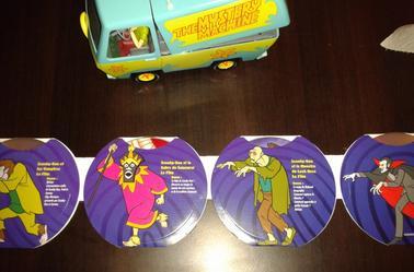 Vanne de la bande a Scooby-Doo avec dvd