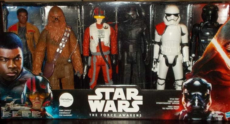 Coffret figurines Stars Wars - Episode 7 : Le reveil de la force
