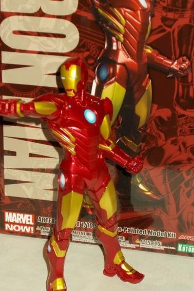 Iron Man - Kotobukiya Marvel Figurine PVC ARTFX+ 1/10